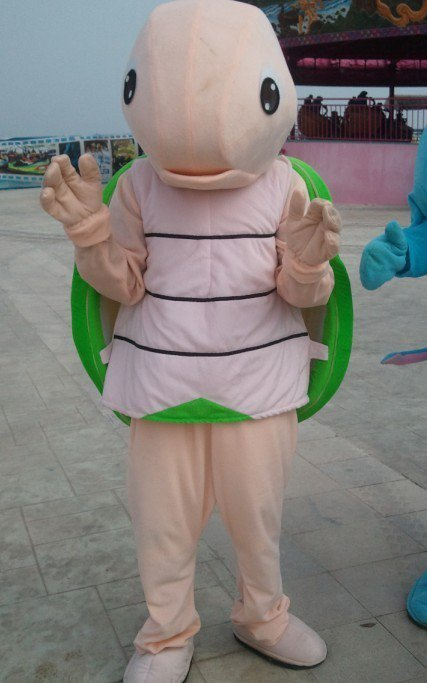Turtles Cartoon Show Doll Clothing Cartoon Costumes Walking Doll Clothing Mascot Costume