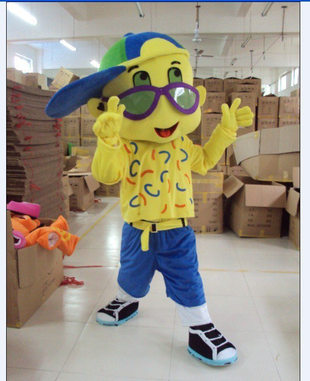 Boy Cartoon Costume Props Walking Dolls Doll Dress Costumes Stage Performance Props Mascot Costume