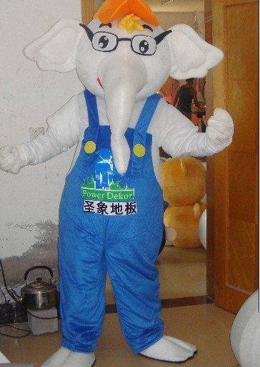 Cartoon Doll Clothing Cartoon Elephant Plush Toy Gift Apparel Clothing Mascot Costume