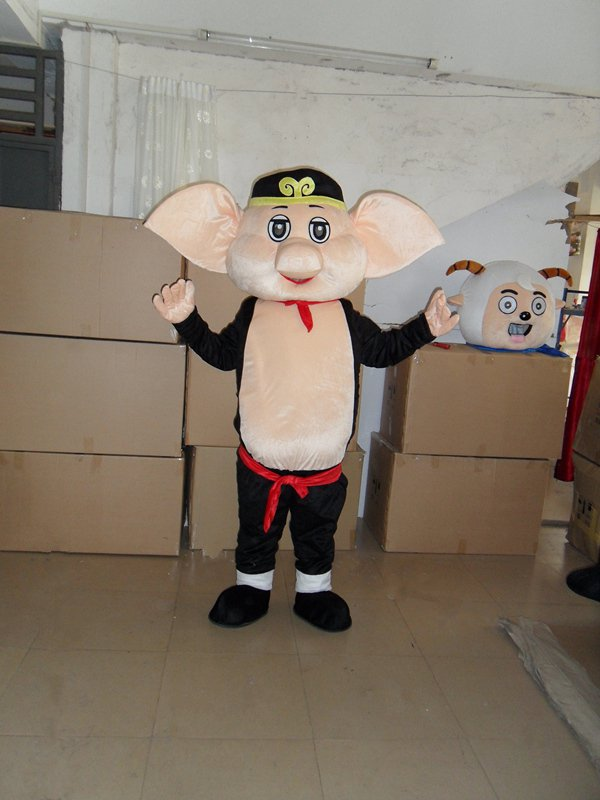 Private Journey To The West with The Money Pig Cartoon Dolls Clothing Mascot Costume