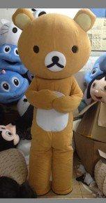 Small Brown Classic Lazy Bear Easily Bear Cartoon Hongjin Mascot Costume