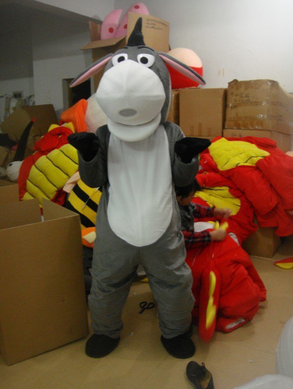Donkey Cartoon Child Costume Props Supplies Clothing Apparel Advertising Mascot Costume
