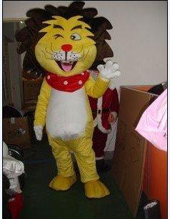 Lion Plush Cartoon Clothing Doll Dress Clothes Show Mascot Costume