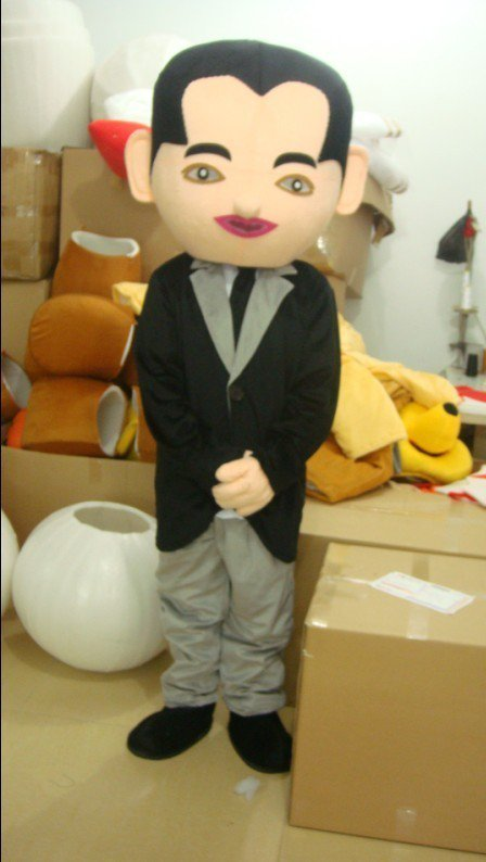 The Little Boy Hangzhou Doll Cartoon Clothing Cartoon Show Clothing Apparel Mascot Costume