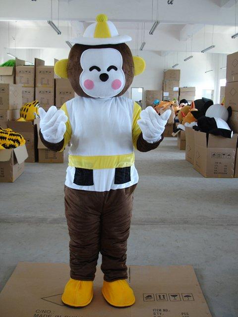 Lucky Monkey Cartoon Dolls Walking Cartoon Doll Clothing Cartoon Dolls Doll Clothing Mascot Costume