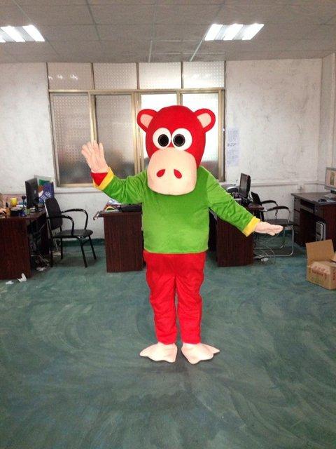 Cartoon Doll Clothing Monkey Cartoon Gorilla Show Props Walking Doll Clothing Mascot Costume