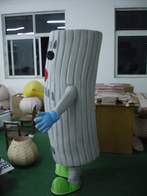 Shanghai Branches of Green Leaves Roots Cartoon Costumes Walking Cartoon Dolls Dress Costumes Mascot Costume