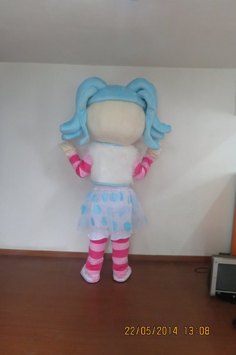 Angel Girl Cartoon Fashion Show Props Walking Doll Clothing Girl Character Clothing Mascot Costume