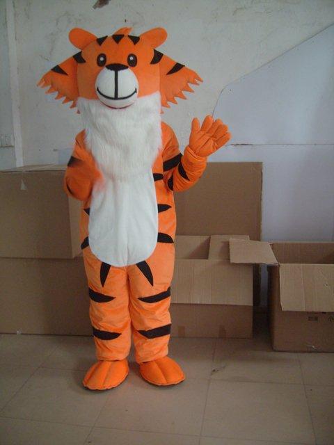 Cartoon Costumes Tigger Adventures Compact Tiger Walking Doll Cartoon Doll Clothing Mascot Costume
