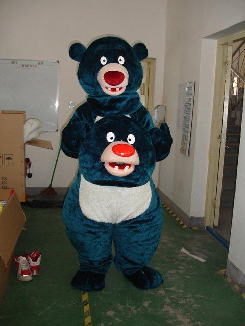 Cartoon Doll Clothing Bear Big Blue Bear Walking Doll Clothing Cartoon Dolls Bulk Mascot Costume