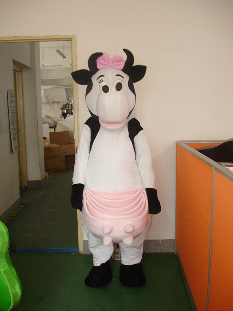 Cartoon Doll Clothing Zealand Cows Cow Advertising Festival Film Props Clothing Apparel Mascot Costume