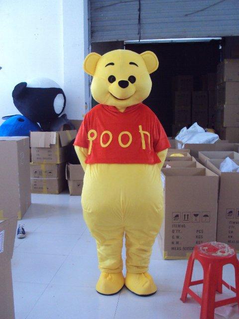 Winnie The Pooh Walking Cartoon Doll Clothing Doll Clothing Cartoon Animation Clothing Apparel Mascot Costume
