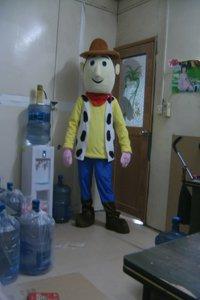Cartoon Costumes Toy Story Hu Di Basi Light Cartoon Walking Doll Clothing Doll Clothing Mascot Costume