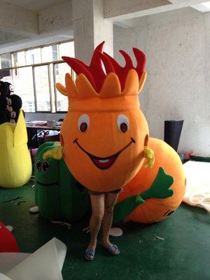 Cartoon Doll Clothing Doll Clothing Pitaya Fruit Costumes Walking Ad Performance Apparel Mascot Costume