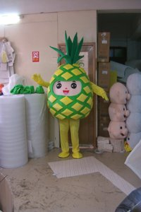 Cartoon Doll Clothing Pineapple Papaya Fruit Props Walking Doll Clothing Cartoon Show Clothing Mascot Costume