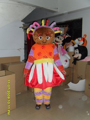 Garden Baby Doll Cartoon Clothing Cartoon Walking Doll Clothing Costumes Props Caps Mascot Costume