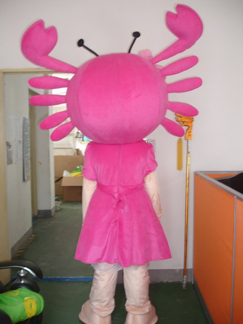 Hairy Crab Walking Cartoon Doll Clothing Doll Clothing Crab Walking Performances Doll Clothing Mascot Costume