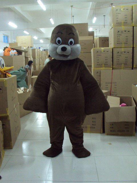 Sea Lion Marine Animal Props Cartoon Dolls Cartoon Clothing Walking Doll Clothing Apparel Seals Mascot Costume