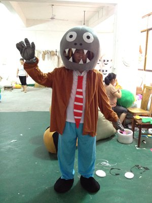 Zombies Cartoon Doll Clothing Cartoon Zombie Cartoon Show Props Costumes Headgear Mascot Costume