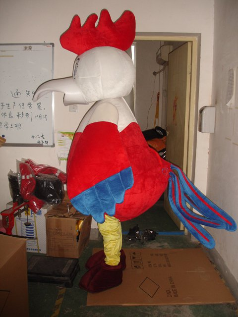 Hen Rooster Cartoon Costumes Cartoon Doll Doll Clothing Chick Apparel Faceless Clothing Mascot Costume