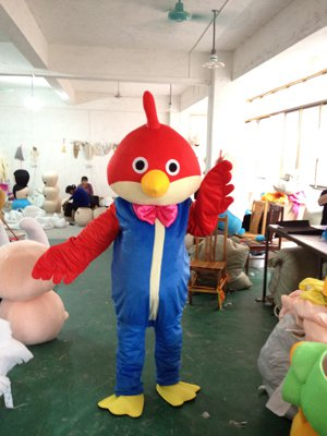 Parrot Cartoon Costume Cartoon Costumes Bird Costumes Headgear Walking Doll Clothing Mascot Costume
