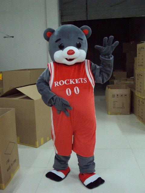Shanghai Cartoon Doll Clothing Rockets Bear Costume Bear Walking Doll Apparel Mascot Costume