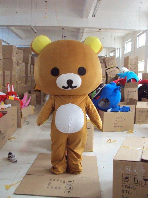Shanghai Cartoon Dolls Curious Bear Easily Bear Lazy Bear Dolls Walking Cartoon Doll Clothing Mascot Costume