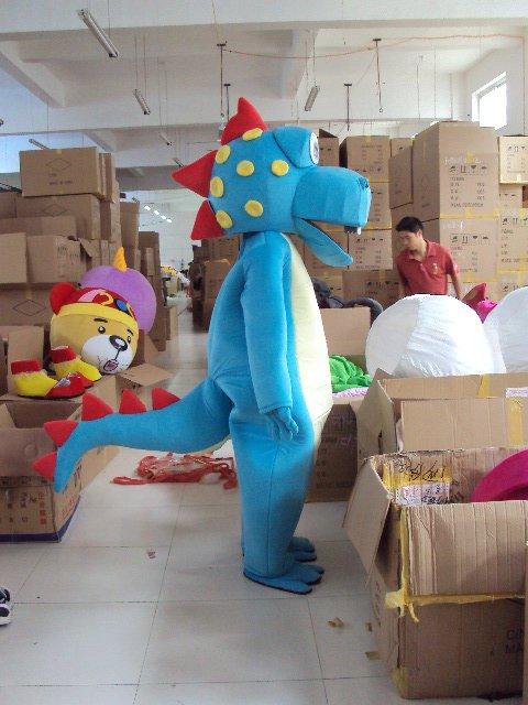 Shanghai Cartoon Dolls Little Dragon Rex Walking Doll Cartoon Props Dolls Doll Clothing Mascot Costume