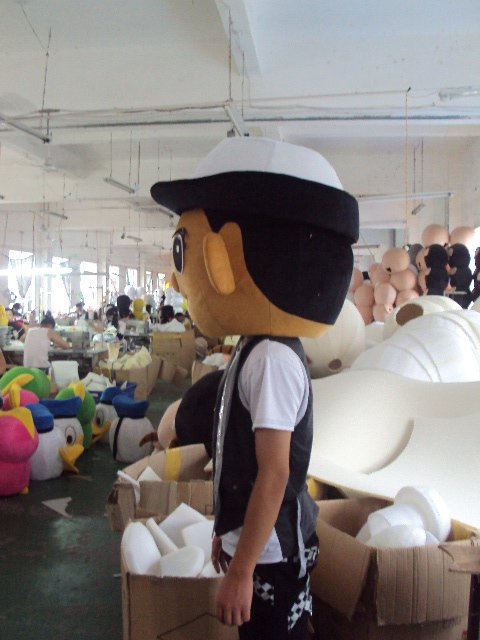 Cartoon Doll Clothing Naval Air Doll Cartoon Character Costumes Walking Doll Cartoon Props Mascot Costume