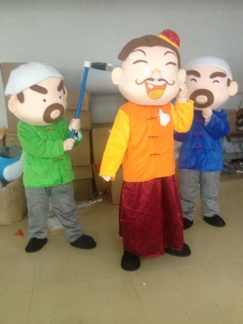 Dolls Walking Cartoon Costumes Rich Landlord Tenant Cartoon Doll Clothing Cartoon Props Mascot Costume