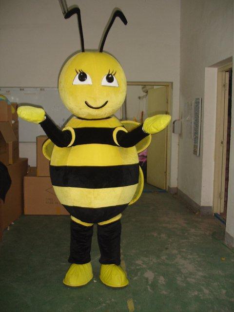 Etiquette Cartoon Bumblebee Cartoon Bee Costume Wigs Animal Clothing Doll Dress Costumes Mascot Costume