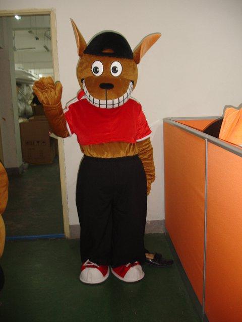 Kangaroo Cartoon Costume Animal Mascot Costume Dolls Walking Cartoon Dolls Plush Toys Clothing