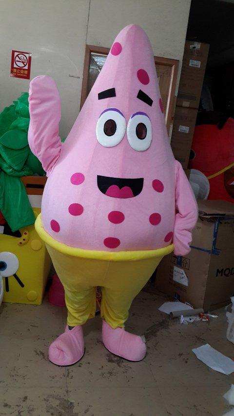 Patrick Starfish Clothing Walking Cartoon Doll Clothing Cartoon Animation Clothing Celebration Clothing Mascot Costume