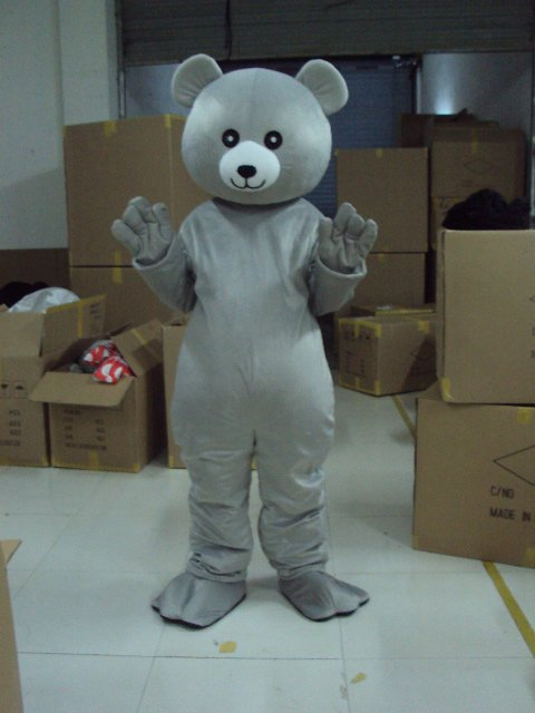 Shanghai Cartoon Dolls Clothing Small Grizzly Bear Toy Dolls Walking Clothing Dress Clothing Mascot Costume