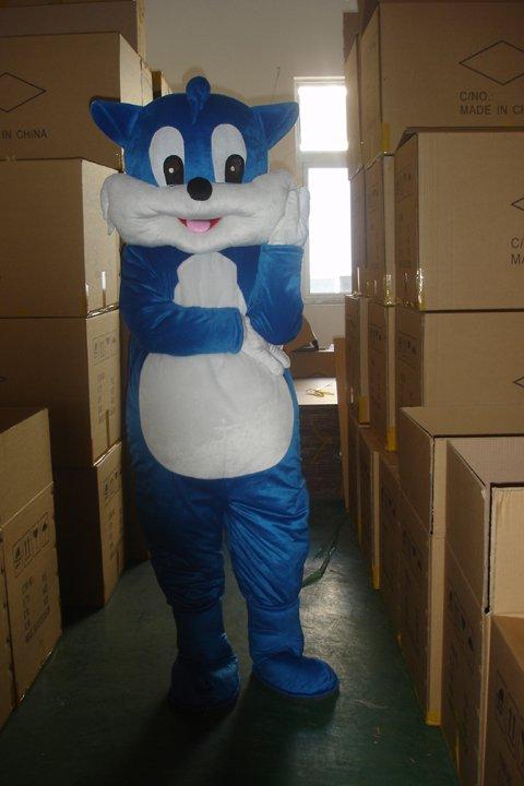Tianjin Blue Cat Cartoon Doll Clothing Cartoon Walking Doll Clothing Cartoon Costumes Headgear Clothing Mascot Costume