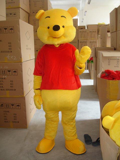 Winnie The Pooh Winnie The Pooh Cartoon Clothing Doll Il Donkey Walking Doll Clothing Headgear Mascot Costume