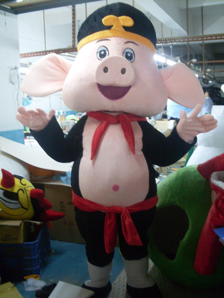 Journey To The West Pig Cartoon Dolls Cartoon Clothing Cartoon Show Clothing Anime Clothing Mascot Costume