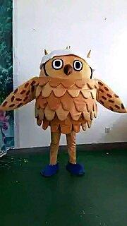 Walking Cartoon Doll Clothing Props Cartoon Clothing Children Clothing Eagle Owl Cartoon Costumes Mascot Costume