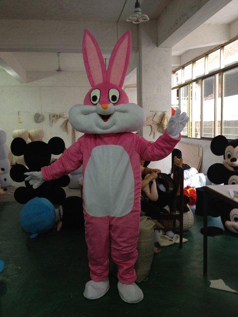 Bugs Bunny Cartoon Dolls Costume Props Performance Clothing Performance Clothing Walking Cartoon Bugs Bunny Cartoon Mascot Costume