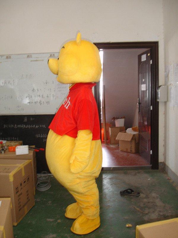 Adult Walking Cartoon Dolls Bear Winnie The Pooh Tigger Costume Props Performance Pickup Pig Doll Clothes Mascot Costume
