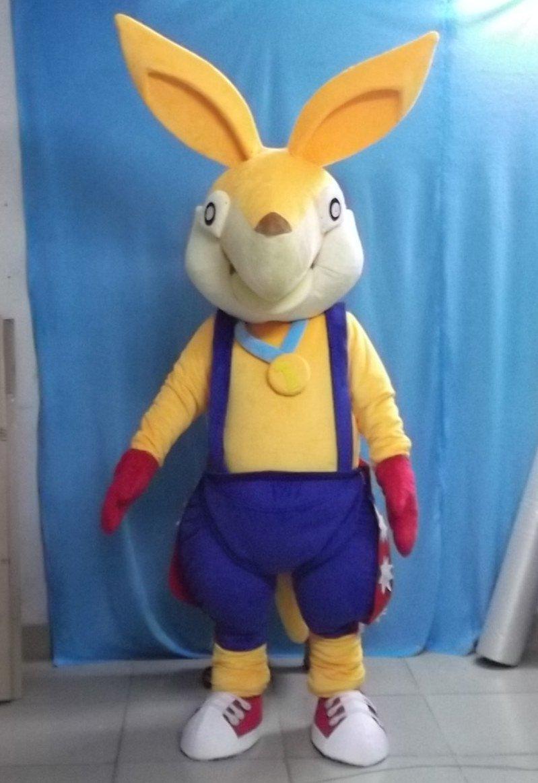 Creative Doll Clothes Doll Cute Doll Adult L Kangaroo Props Walking Cartoon Doll Clothing Mascot Costume