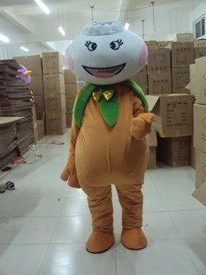 Area Cartoon Doll Clothing Walking Cartoon Show Costumes Custom Adult - Dumplings Doll Mascot Costume