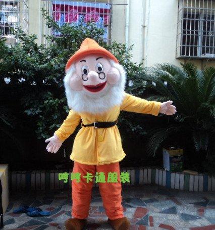 Christmas Mascot Costume Cartoon Doll Clothing Cartoon Animal Headgear Seven Dwarfs and Snow White