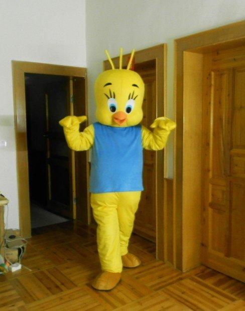 People Wearing Animal Dress Walking Doll Clothing Doll Clothing Cartoon Show Clothing Costumes Cockerel Headgear Mascot Costume