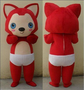 Adult Walking Cartoon Doll Clothing Cartoon Show Costumes Mascot Plush Doll Ali Mascot Costume