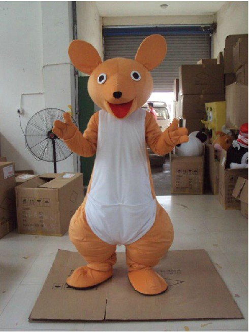 Cartoon Doll Clothing Zodiac Animal Modeling Clothes Cartoon Clothing Kangaroo Rat Voles Show Mascot Costume