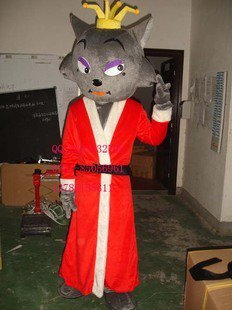Doll Doll Cartoon Costumes Performing Props Costumes Pan Red Wolf and Wolf Cartoon Clothing Mascot Costume