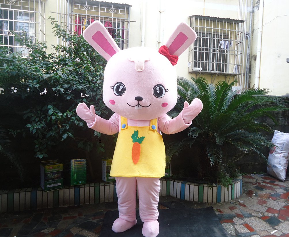 Adult Cartoon Doll Clothing People Wear Costumes and Stage Performances Small Rabbit Doll Animal Doll Mascot Costume