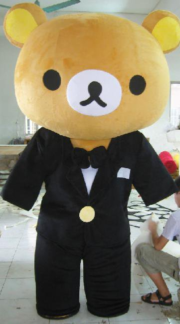 Wedding Gifts Section Japanese People Wear Wedding Plush Dolls Doll Clothing Cartoon Clothing Clothes Suit Easily Bear Headgear Mascot Costume