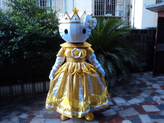 Adult Walking Doll Doll Clothing Cartoon Show Clothing Props Activity Katie Cat Mascot Costume